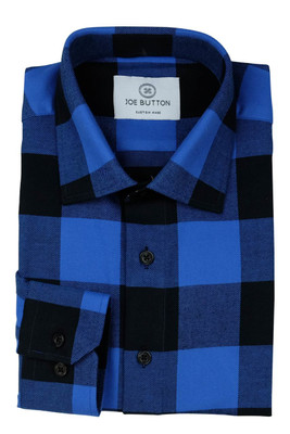 Taylor Blue and Back Flannel