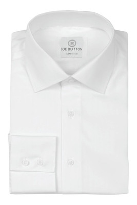 Spencer Executive White Poplin