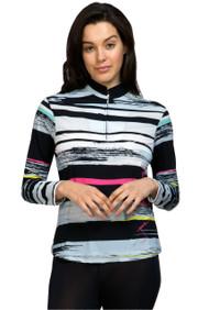 81142-Artisan print sun shirt