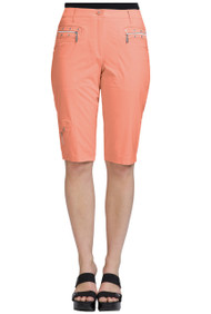 """81337- Passion with Silver Trims Knee Capri - 24.5"""" AIRWEAR"""