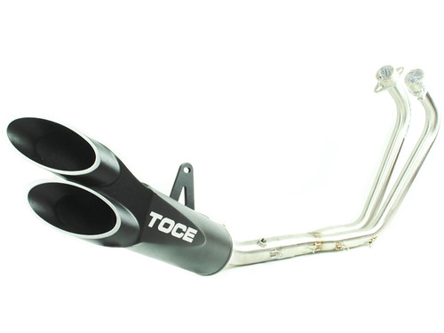 Toce 2015 2017 Yamaha R3 Razor Tip Full Exhaust System Toce