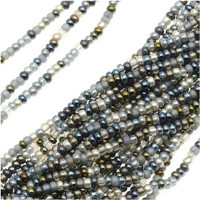 Czech Seed Beads 11/0 Heavy Metals (1 Hank)