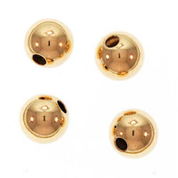 14K Gold Filled Seamless Round Beads 6mm (5)