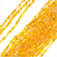 Czech Seed Beads 11/0 Daffodil Mix (1 Hank)
