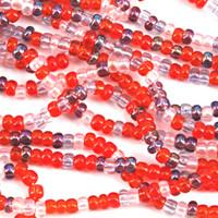 Czech Seed Beads 6/0 MelonBerry Mix (Half Hank)