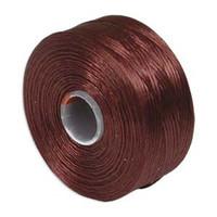 S-Lon Beading Thread Size D - Burgundy