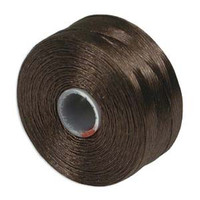 S-Lon Beading Thread Size D - Brown