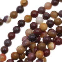 Mookaite 6mm Round Beads 16 In.Strand