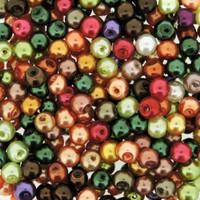 UnCommon Artistry Glass Pearl Mix 200pcs 4mm- Fall Mix
