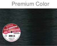 Soft Touch Best Beading Wire BLACK .010 Inch 30 Feet Soft Flex