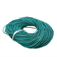 15 Ft of Turquoise Genuine Leather Cord Round 2mm Diameter