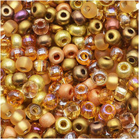 Czech Seed Beads 6/0 All That Glitters Mix (1 ounce)