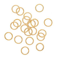 UnCommon Artistry 14K Gold Filled Open Jump Rings 6mm 20 Gauge (20)