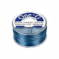 Toho One-G Beading Thread Blue, 50 Yard spool
