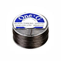 Toho One-G Beading Thread Brown, 50 Yard spool