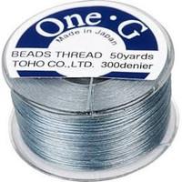 Toho One-G Beading Thread Gray, 50 Yard spool