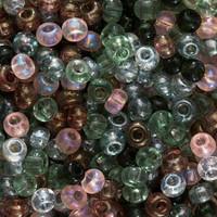 Czech Seed Beads 6/0 Tourmaline Tapestries Mix (1 ounce)