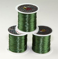 Elastic Stretchy Cord 30 Meters Dark Green