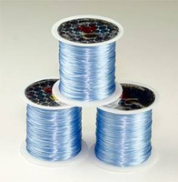 Elastic Stretchy Cord 30 Meters Light Blue