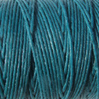 Waxed Irish Linen - 2 ply - Teal (10 yds)