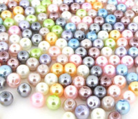 UnCommon Artistry Glass Pearl Mix 200pcs 6mm - Pastel Mix