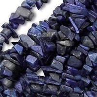 Lapis Lazuli Chips 5-10mm Beads/ 35 Inch Strand