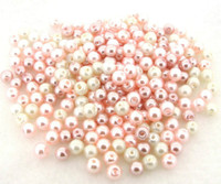 UnCommon Artistry Glass Pearl Mix 200pcs 4mm - Barely Pink Mix