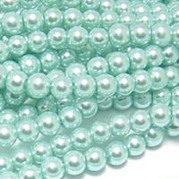 UnCommon Artistry Glass Pearl Beads 200pcs 4mm - Aqua