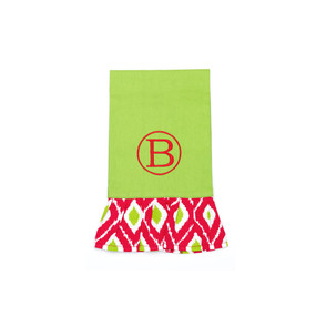 Holiday Ikat Hand Towel