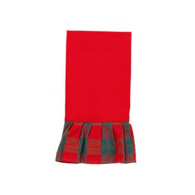Holiday Plaid Hand Towel