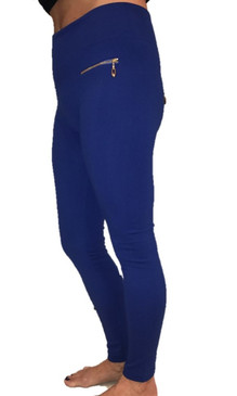 Royal Blue Fleece Leggings