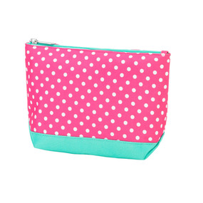 Pink Dottie Cosmetic Bag