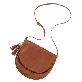 Camel Sienna Tassel Bag