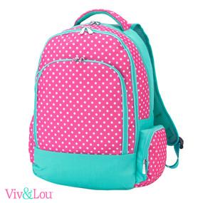 Pink Dottie Backpack