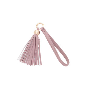 Blush Tassel Key Accessory