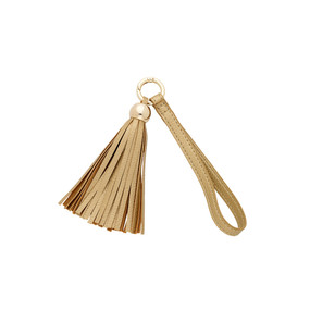 Gold Tassel Key Accessory