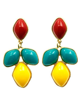 Homaica Stone Dangle Earrings