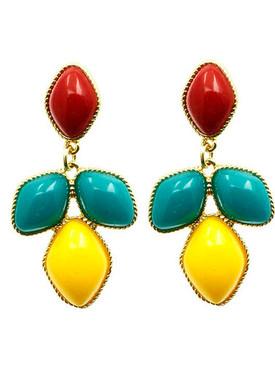 Homaica Stone Dangle Earrings