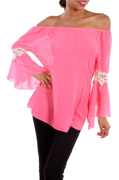 Pink Lemonade Top - Neon Pink