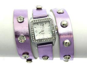 Purple Wrap Watch