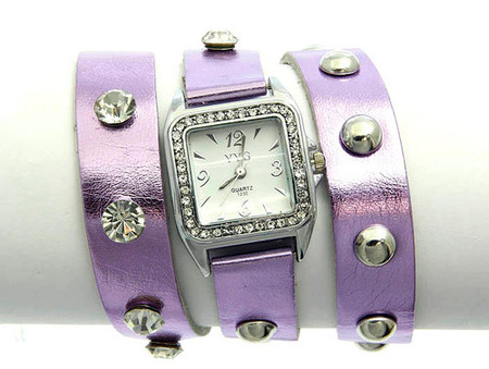 Purple Wrap Watch