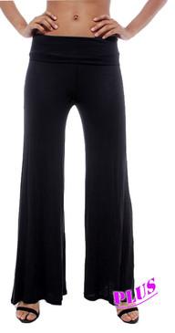 PS Plus Solid Wide Leg Pants - Black