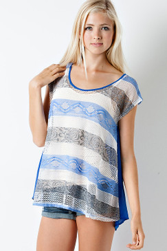 American Girl Top - Blue
