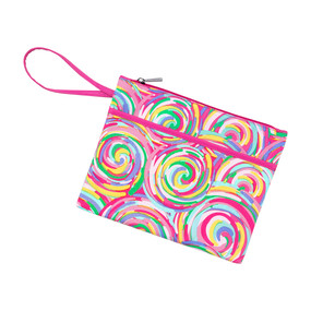 Summer Sorbet Zip Pouch Wristlet