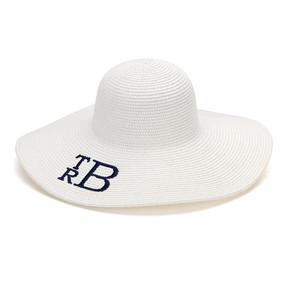 White Adult Floppy Hat
