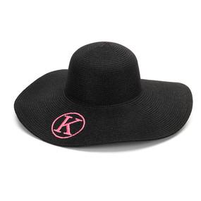 Black Adult Floppy Hat