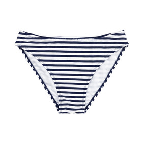 Mini Navy Prep Stripe Swim Bottom