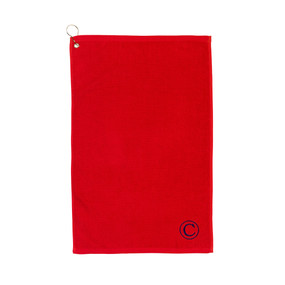 Red Golf Towel