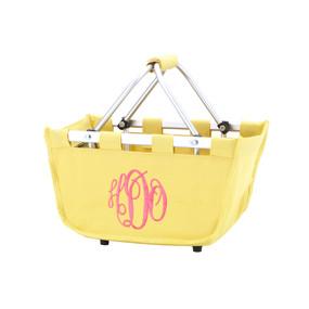 Mini Yellow Market Tote