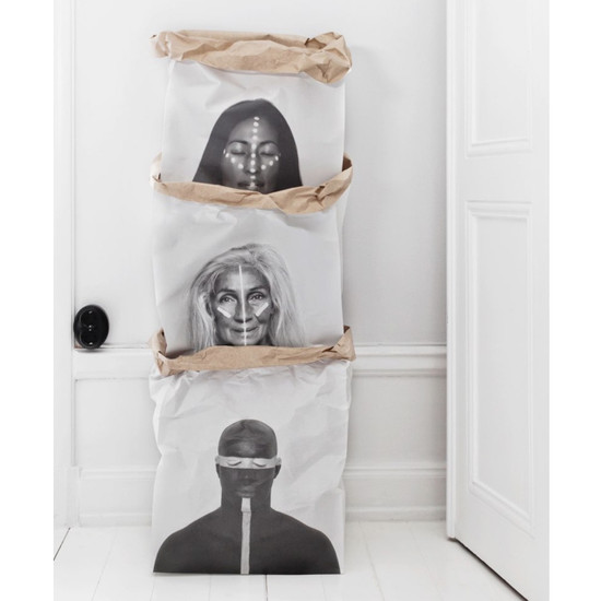 DOUBLE-SIDED CRAFT PAPER BAG, Warrior of the World 1 by Love Warriors